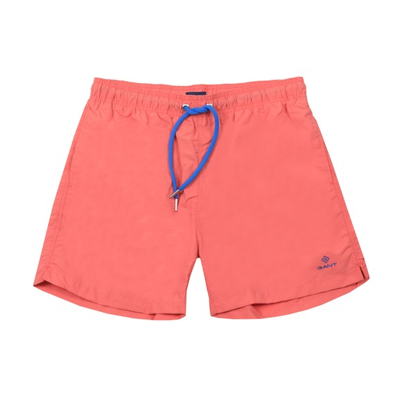 Gant Mens Red Basic Swim Short main image