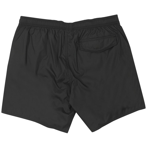 Emporio Armani Mens Black Small Taped Logo Swim Short main image