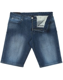 Emporio Armani Mens Blue 5 Pocket Denim Short