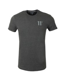 Eleven Degrees Mens Grey Core Muscle T-Shirt