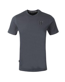 Eleven Degrees Mens Grey Logo T-Shirt