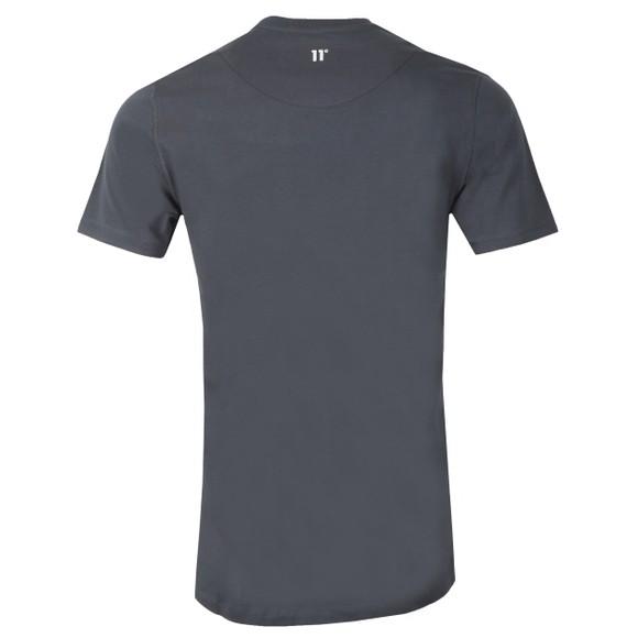 Eleven Degrees Mens Grey Logo T-Shirt main image