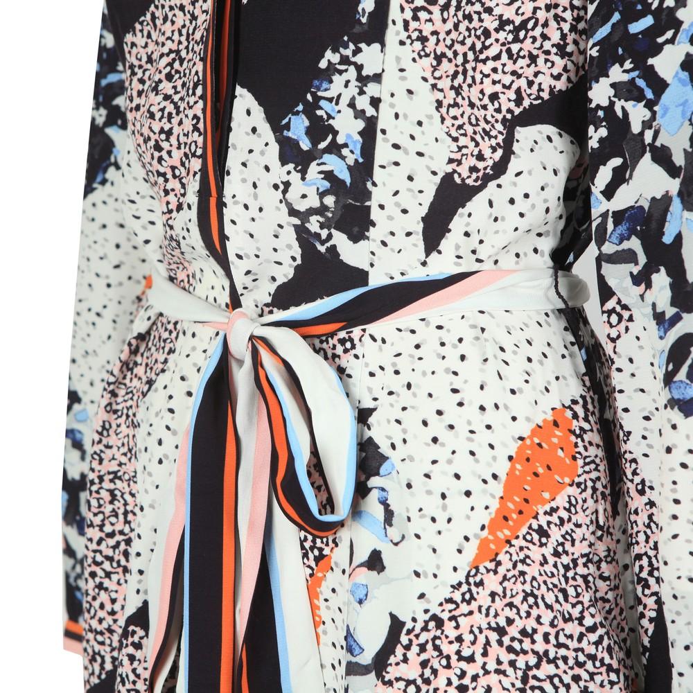 Asha Mix Print Handkerchief Dress main image