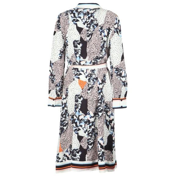 French Connection Womens Blue Asha Mix Print Handkerchief Dress main image