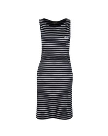 Barbour Lifestyle Womens Blue Dalmore Stripe Dress