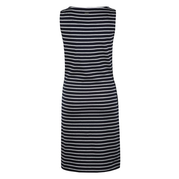Barbour Lifestyle Womens Blue Dalmore Stripe Dress main image