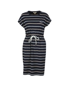 Barbour Lifestyle Womens Blue Marloes Stripe Dress
