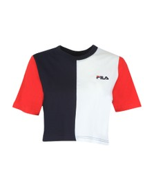 Fila Womens Blue Custew Crop T-Shirt