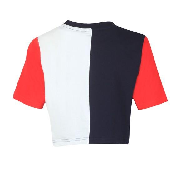 Fila Womens Blue Custew Crop T-Shirt main image