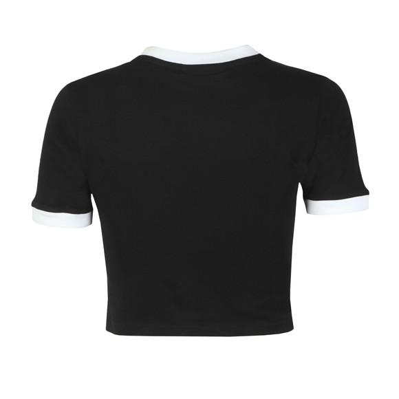 Fila Womens Black Tionne Crop T-Shirt main image