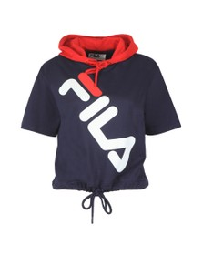 Fila Womens Multicoloured Shea Short Sleeve Hoody