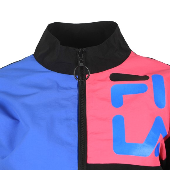 Fila Womens Black Rumi Colour Block Track Jacket main image