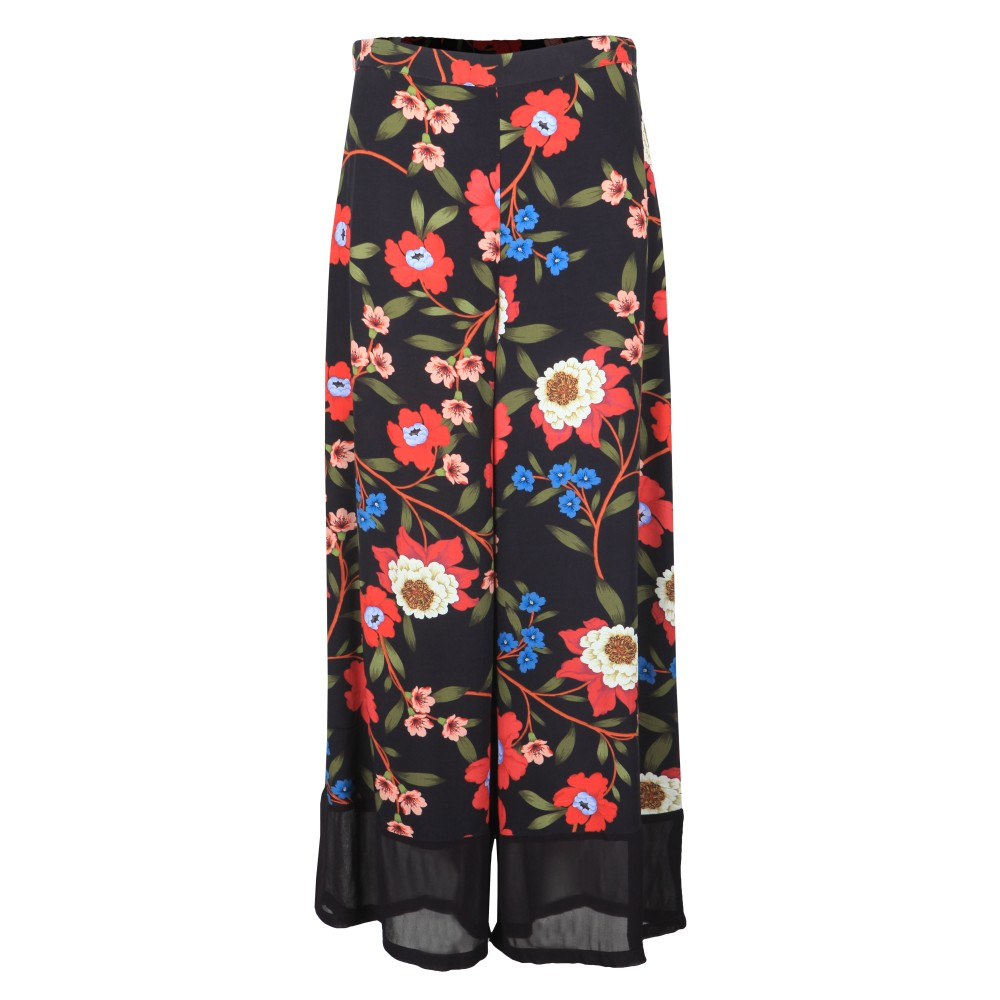 Eloise Drape Printed Trouser main image