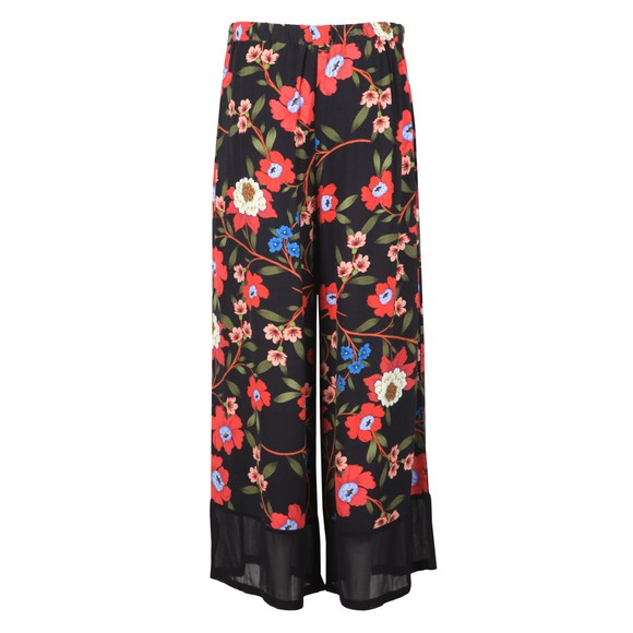 French Connection Womens Blue Eloise Drape Printed Trouser main image
