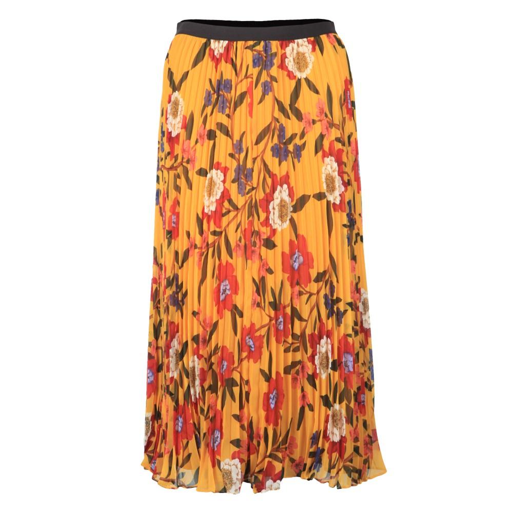 Eloise Crinkle Midi Skirt main image