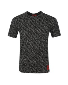 HUGO Mens Black Dantastic T Shirt