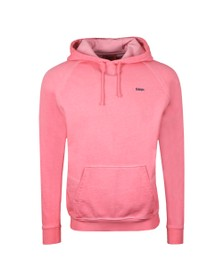 HUGO Mens Pink Derraine Overhead Hoody