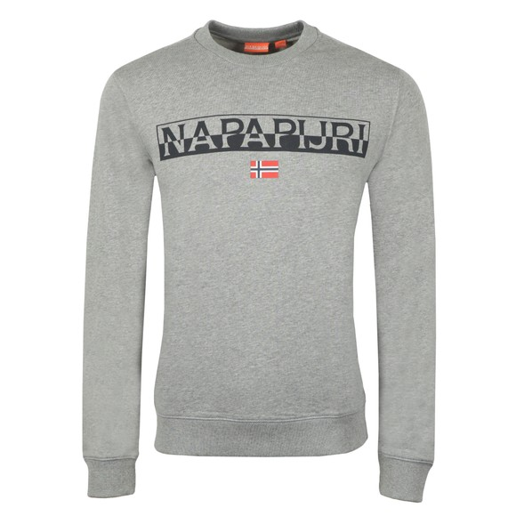 Napapijri Mens Grey Baras Sweatshirt