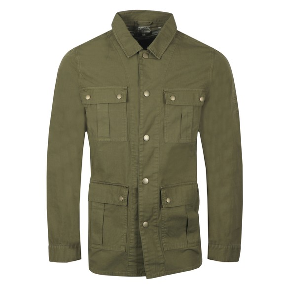 Barbour Int. Steve McQueen Mens Green Chico Overshirt