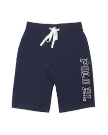 Polo Ralph Lauren Mens Blue Side Taping Sweat Short