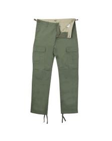 Carhartt WIP Mens Green Aviation Cargo Trouser