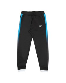 Sik Silk Mens Black Fitted Tape Track Pants