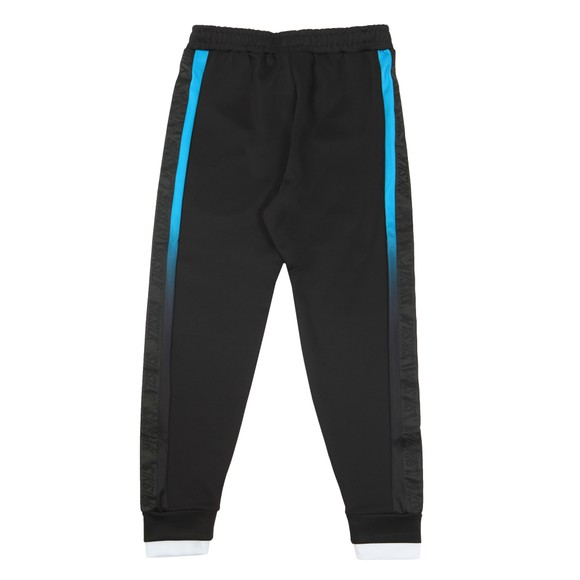 Sik Silk Mens Black Fitted Tape Track Pants main image