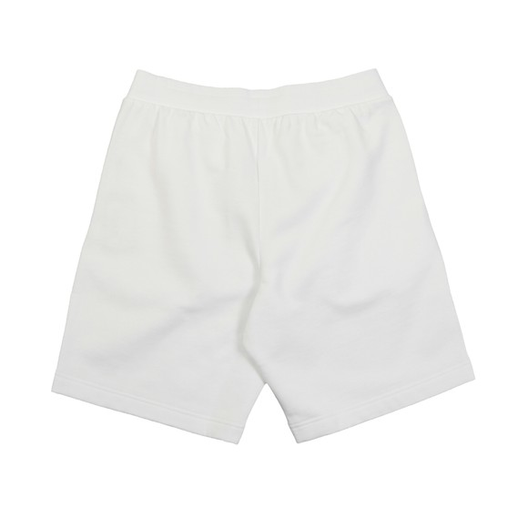 EA7 Emporio Armani Mens White Logo Sweat Short