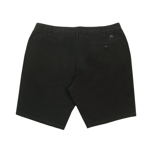 PS Paul Smith Mens Black Standard Fit Chino Short