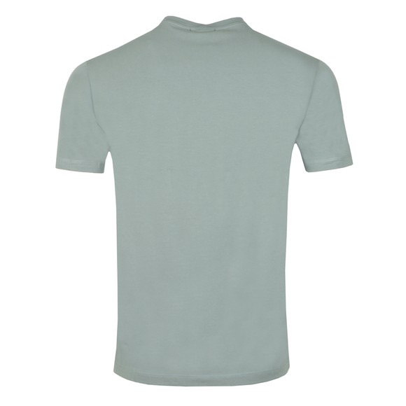 Emporio Armani Mens Green Eagle Script T Shirt main image