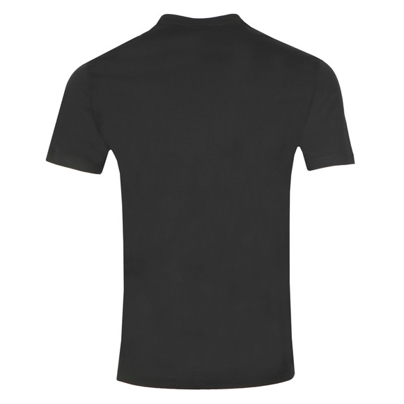 Emporio Armani Mens Black Neon Eagle T Shirt main image