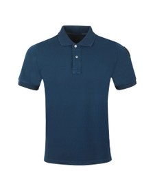 Parajumpers Mens Blue Basic Polo Shirt