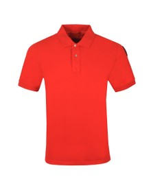 Parajumpers Mens Red Basic Polo Shirt