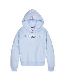 Tommy Hilfiger Kids Girls Calm Blues Essential Overhead Hoody