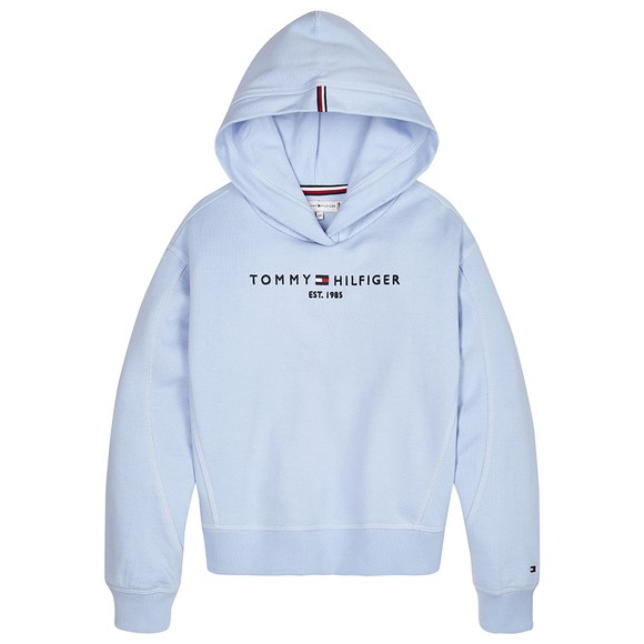 Tommy Hilfiger Kids Girls Calm Blues Essential Overhead Hoody main image