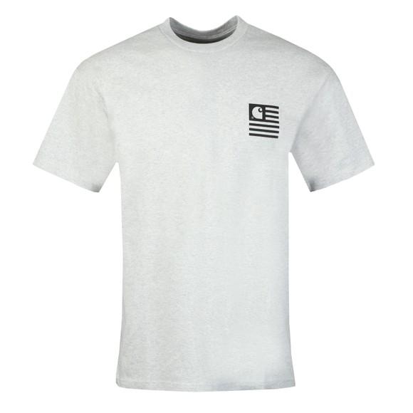 Carhartt WIP Mens Grey State Chromo T-Shirt main image