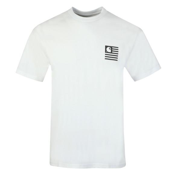 Carhartt WIP Mens White State Chromo T-Shirt main image