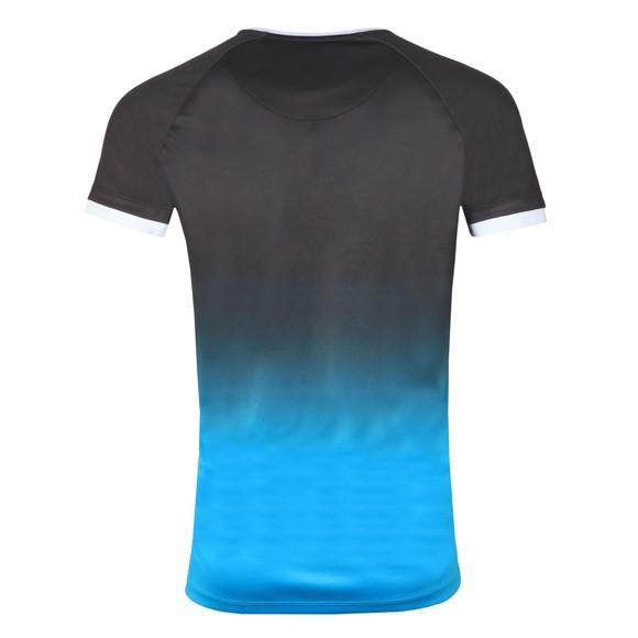 Sik Silk Mens Black Raglan Straight Hem Fade T-Shirt main image