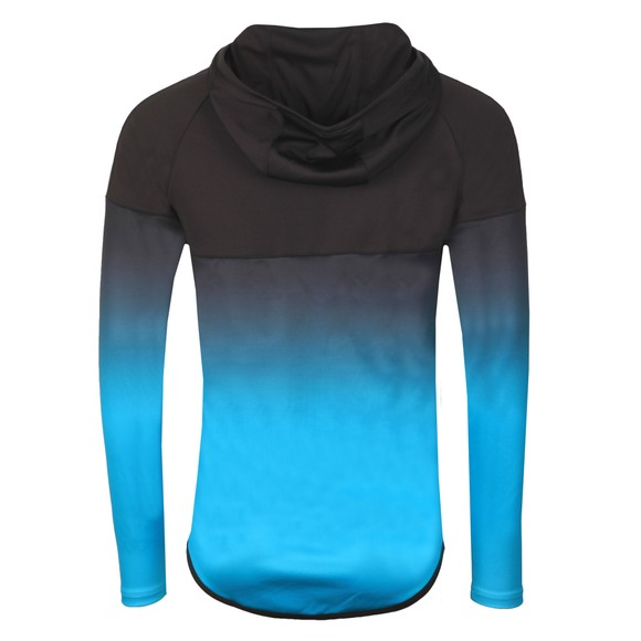 Sik Silk Mens Black Athlete Hybrid Zip Through Hoodie main image