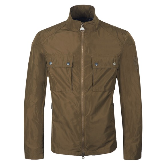 Barbour Int. Steve McQueen Mens Green Ashbury Jacket