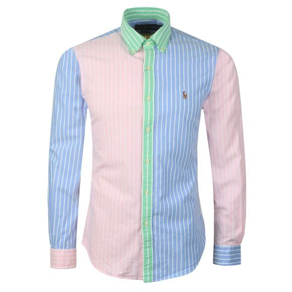 Polo Ralph Lauren Mens Multicoloured Striped Oxford Shirt main image