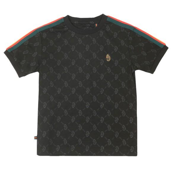 Luke Sport Boys Black Top Irons T-Shirt main image