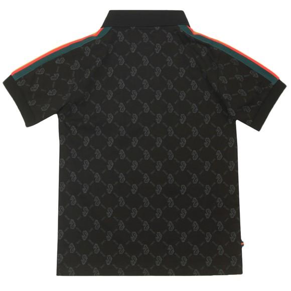 Luke Sport Boys Black Princey Junior Polo Shirt
