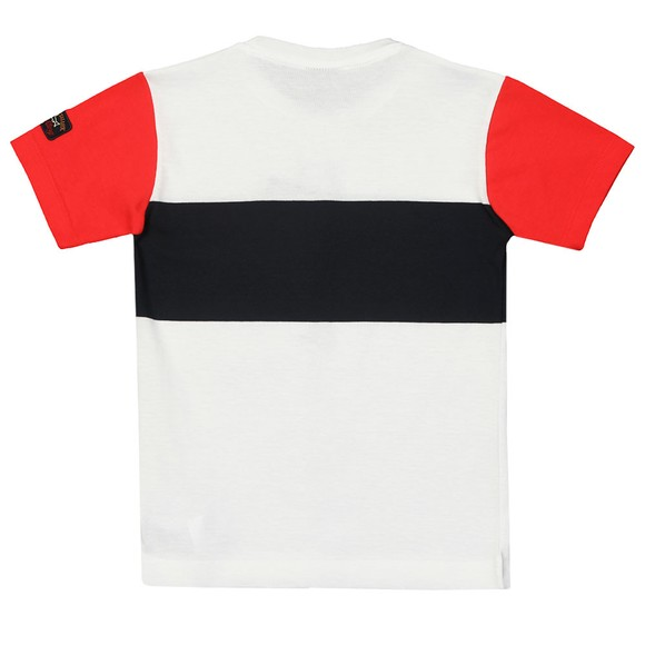 Paul & Shark Boys Multicoloured Colour Block T-Shirt