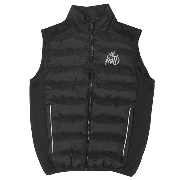 Kings Will Dream Boys Black Fulton Solid Gilet