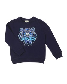 Kenzo Kids Boys Blue Tiger Sweatshirt