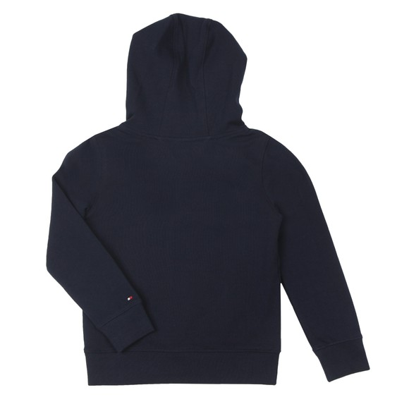 Tommy Hilfiger Kids Boys Blue Essential Overhead Pocket Hoody main image