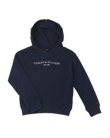 Tommy Hilfiger Kids Girls Blue Essential Overhead Hoody