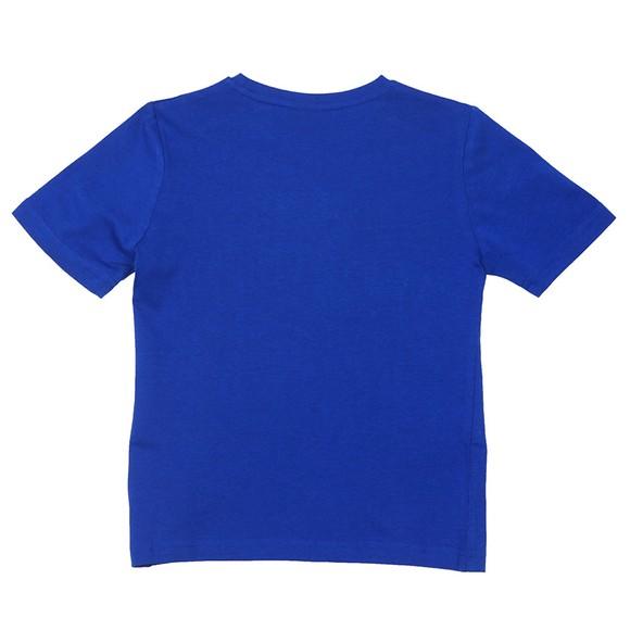 BOSS Boys Blue J25E64 Logo T Shirt main image