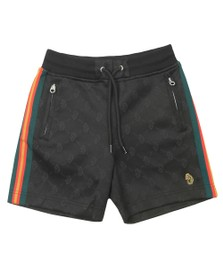 Luke Sport Boys Black Dynamite Junior Short